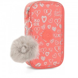 Пенал для ручек Kipling 50 PENS Hearty Pink Met (83S) K10999_83S