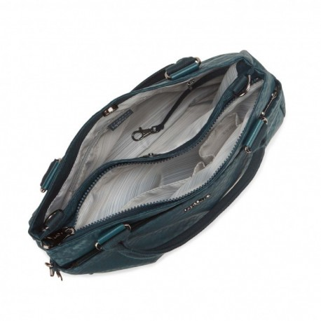 Жіноча сумка Kipling CARALISA Dk Emerald Emb (M75) K16653_M75