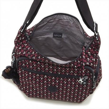Жіноча сумка Kipling GABBIE Pink Chevron (K05) K15255_K05