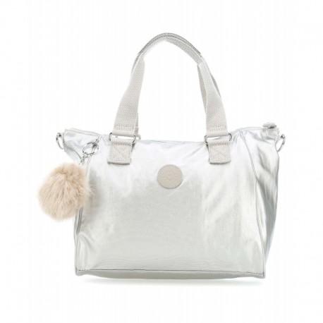 Жіноча сумка Kipling AMIEL Silver Beige (02R) K16616_02R