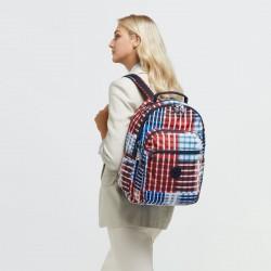 Рюкзак для ноутбука Kipling SEOUL Bold Check (N58) KI6269_N58