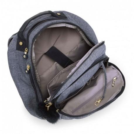 Рюкзак для ноутбука Kipling CLAS SEOUL Cotton Jeans (F27) K12629_F27