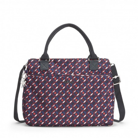 Жіноча сумка Kipling CARALISA Red Tile Print (13C) K16653_13C
