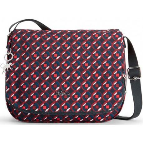 Жіноча сумка Kipling EARTHBEAT M Red Tile Print (13C) K14302_13C