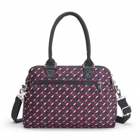 Жіноча сумка Kipling SUNBEAM Red Tile Print (13C) K70061_13C