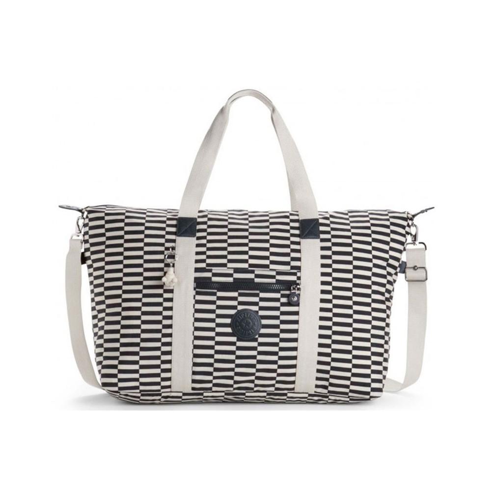Жіноча сумка Kipling ART L BEACH Striped Print (20L) K14783_20L
