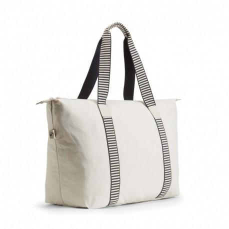 Жіноча сумка Kipling ART M FOLD Canvas White (16H) K16997_16H