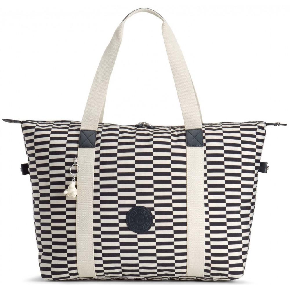 Жіноча сумка Kipling ART M FOLD Striped Print (20L) K16997_20L
