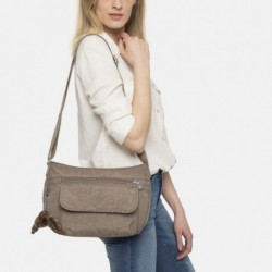 Женская сумка Kipling SYRO True Beige (77W) K13163_77W