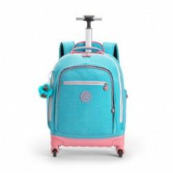 Рюкзак на колесах Kipling ECHO Bright Aqua C (19T) K11648_19T