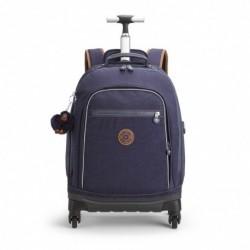 Рюкзак на колесах Kipling ECHO Blue Tan Block (30G) K11648_30G