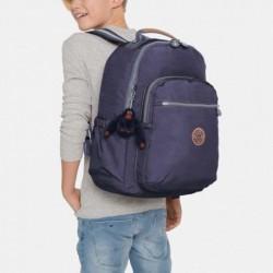 Рюкзак для ноутбука Kipling SEOUL GO Blue Tan Block (30G) K21316_30G