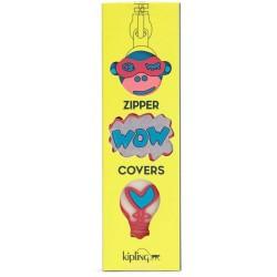 Набор накладок на молнии Kipling BTS PULLERS MIX Pink Glow Mix (22Z) K00107_22Z