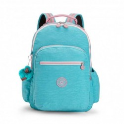 Рюкзак для ноутбука Kipling SEOUL GO Bright Aqua C (19T) K21316_19T