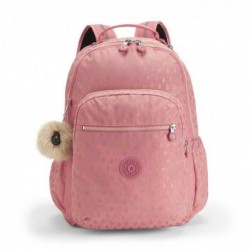 Рюкзак для ноутбука Kipling SEOUL GO Pink Gold Drop (25T) K21316_25T
