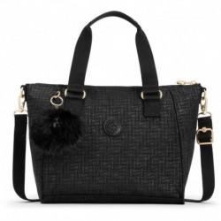 Женская сумка Kipling AMIEL Black Pylon Emb (47K) K16616_47K