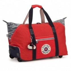 Дорожная сумка на колесах Kipling ART ON WHEELS M Active Red Bl (17M) KI3131_17M