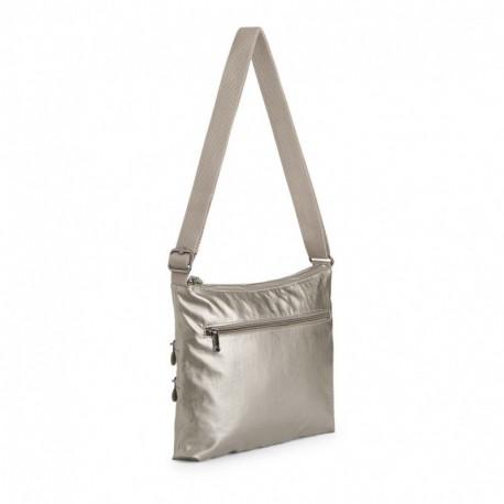 Жіноча сумка Kipling ALVAR Metallic Pewter (L34) K12472_L34