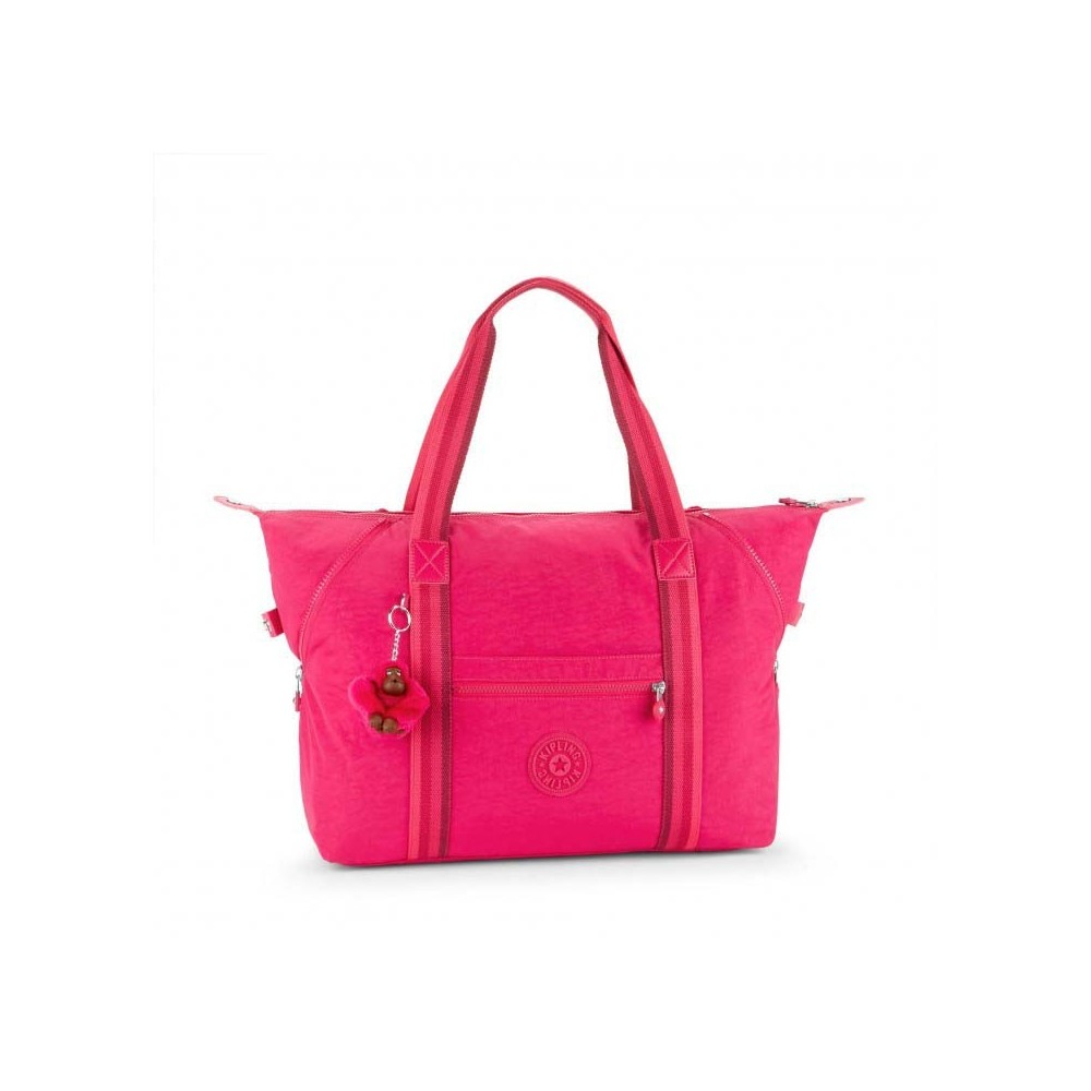 Жіноча сумка Kipling ART M Cherry Pink C (K77) K13405_K77
