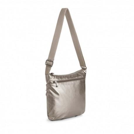 Женская сумка Kipling ARTO Metallic Pewter (L34) K10878_L34