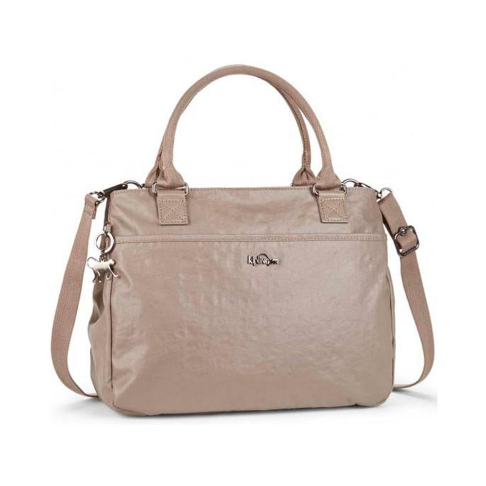 Жіноча сумка Kipling CARALISA Lacquer Sand (J41) K16653_J41