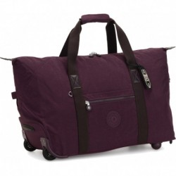 Дорожня сумка на колесах Kipling ART ON WHEELS M Dark Plum (51E) KI3131_51E