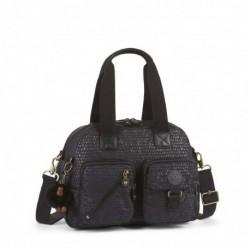 Женская сумка Kipling DEFEA Black Scale Emb (19M) K18217_19M