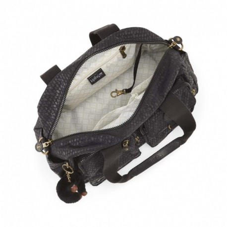 Жіноча сумка Kipling DEFEA Black Scale Emb (19M) K18217_19M