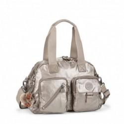 Женская сумка Kipling DEFEA Metallic Pewter (L34) K18217_L34