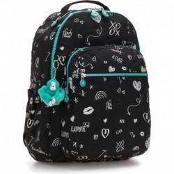 Рюкзак для ноутбука Kipling SEOUL GO Girl Doodle (83A) K21316_83A