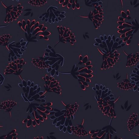 Рюкзак Kipling FIREFLY UP Floral Night (T27) K12887_T27