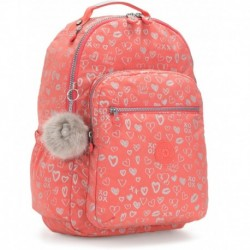 Рюкзак для ноутбука Kipling SEOUL GO Hearty Pink Met (83S) K21316_83S