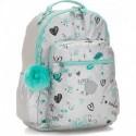 Рюкзак для ноутбука Kipling SEOUL GO Metallic Doodle (37Q) K02005_37Q