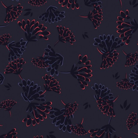 Косметичка Kipling IAKA Floral Night (T27) K10978_T27