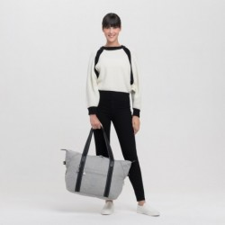 Женская сумка Kipling ART M Chalk Grey (62M) KI2987_62M