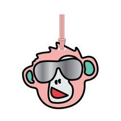 Брелок Kipling MONKEY FUN TAG Peachy Pink Fun (78Y) K00117_78Y