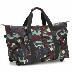 Дорожная сумка на колесах Kipling ART ON WHEELS M Camo L (P35) KI3131_P35
