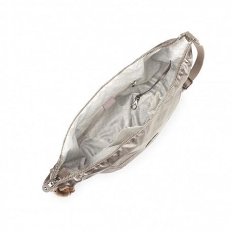 Жіноча сумка Kipling NILLE Metallic Pewter (L34) K18488_L34