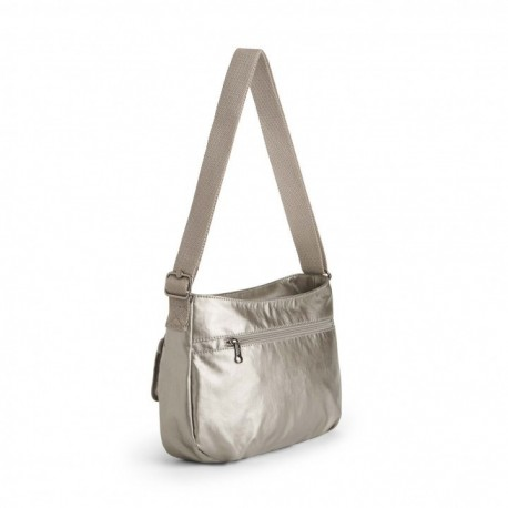 Жіноча сумка Kipling SYRO Metallic Pewter (L34) K12482_L34