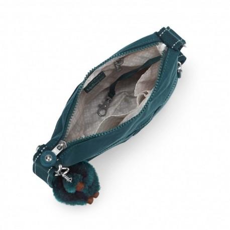 Жіноча сумка Kipling ZAMOR Deep Emerald C (89W) K12199_89W