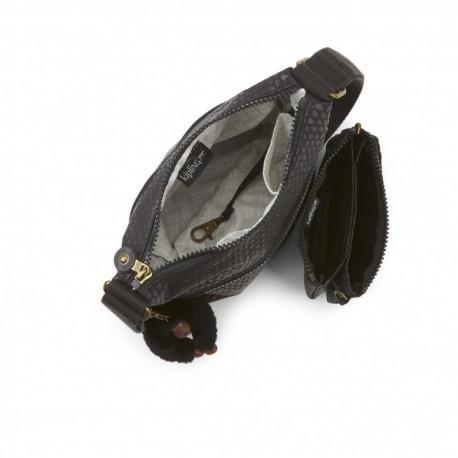 Женская сумка Kipling ZAMOR DUO Black Scale Emb (19M) K14893_19M