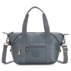 Женская сумка Kipling ART MINI Steel Gr Metal (H55) K15410_H55