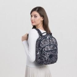 Рюкзак для ноутбука Kipling SEOUL S Navy Stick Pr (Q56) KI3789_Q56