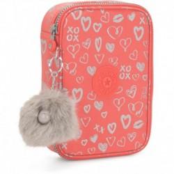 Пенал для ручек Kipling 100 PENS Hearty Pink Met (83S) K09405_83S