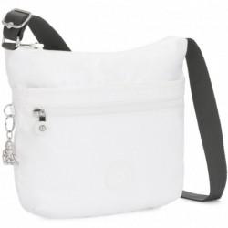 Жіноча сумка Kipling ARTO White Metallic (47I) K10878_47I