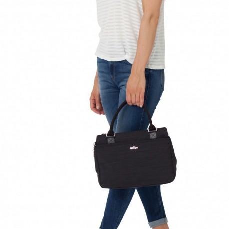 Женская сумка Kipling CARALISA Dazz Black (H53) K16653_H53