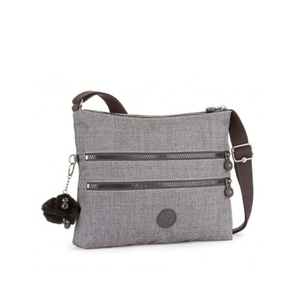 Жіноча сумка Kipling ALVAR Cotton Grey (D03) K12472_D03
