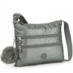 Женская сумка Kipling ALVAR Metallic Stony (19U) K12472_19U