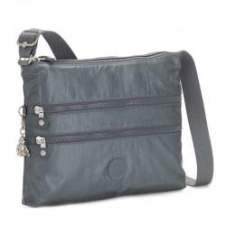 Женская сумка Kipling ALVAR Steel Gr Metal (H55) K12472_H55
