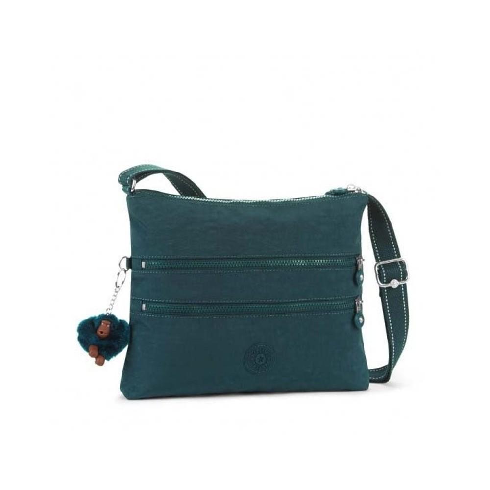 Жіноча сумка Kipling ALVAR Deep Emerald C (89W) K13335_89W